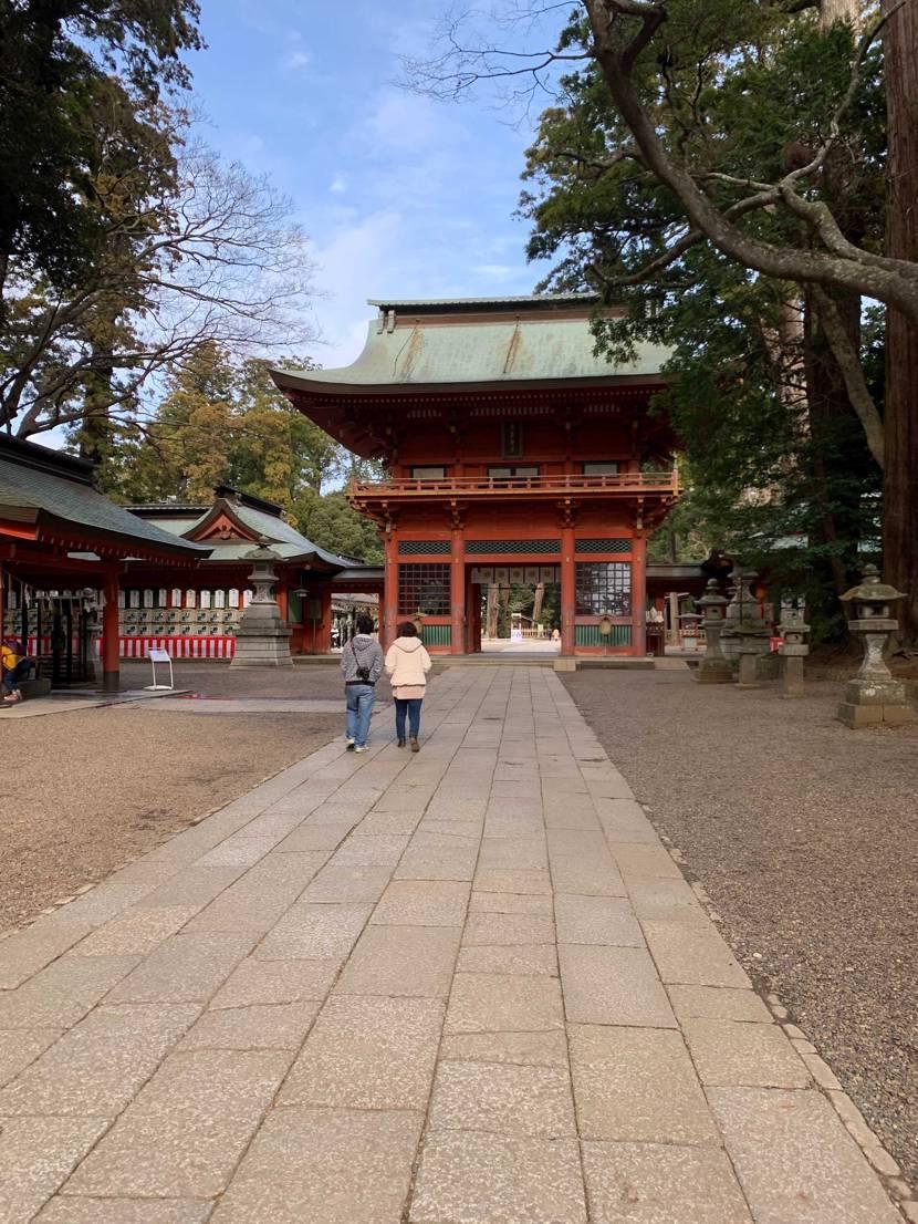 LAtoChicagoと鹿島神宮へドライブに行ってまいりまし