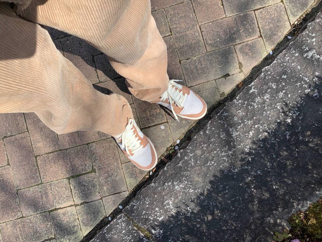 初めてスニダンで買ったスニーカーめっちゃ気に入ったし最高すぎる!!