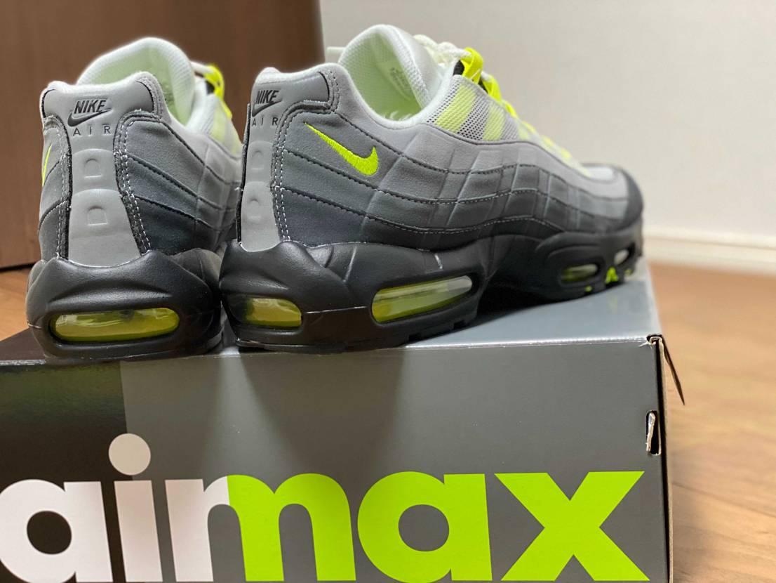 air max95 OG neon yellow 2020