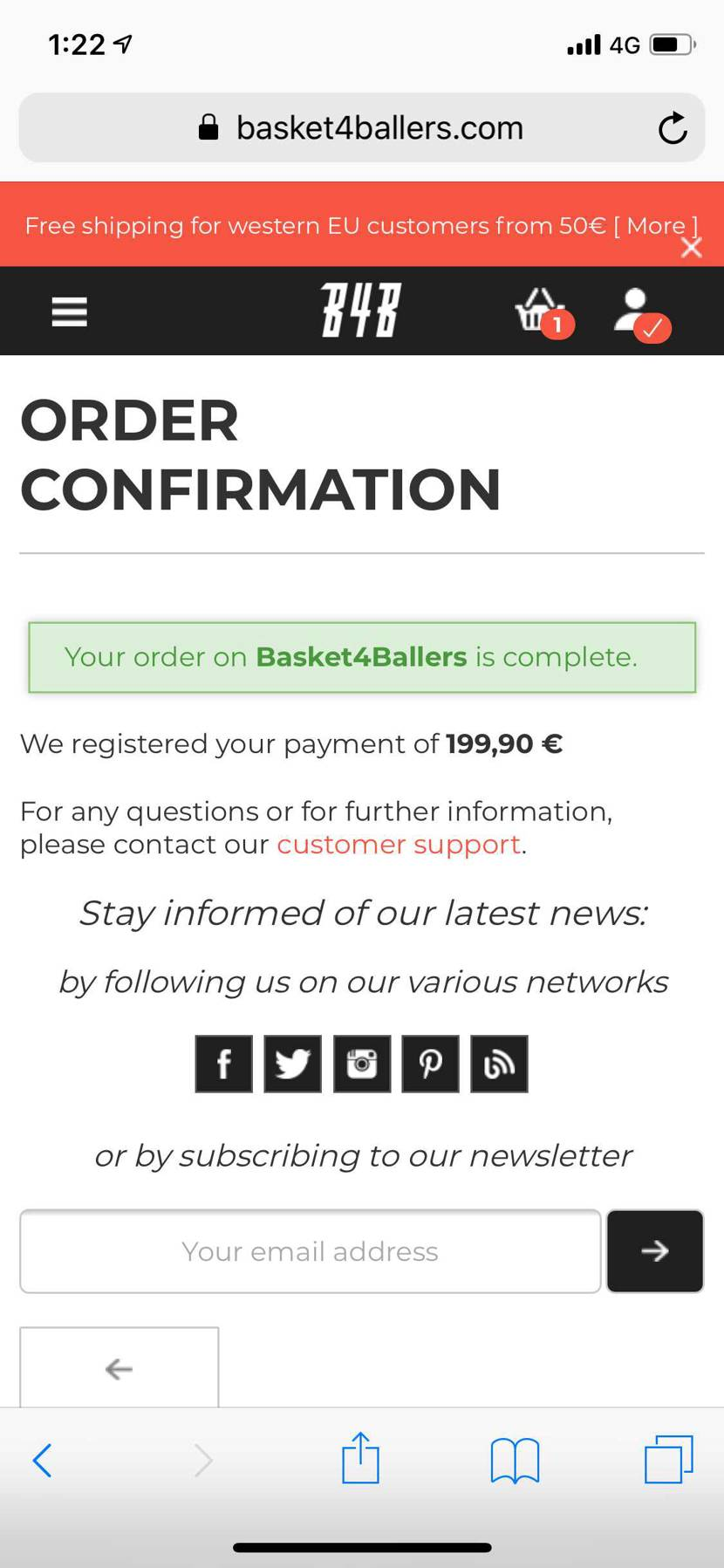 ようやく安眠できます…。初回購入10€OFFです。 教えてくれた方々ありがとう
