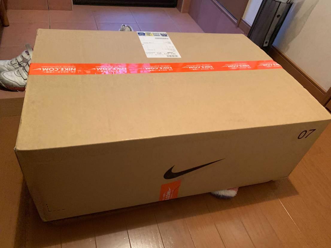 デカい段ボール箱でブレーザー GTが到着!!