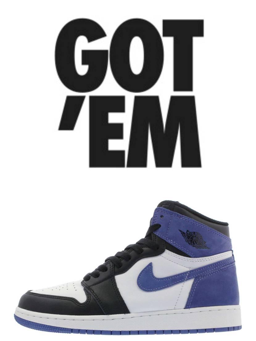 Air Jordan 1 BlueMoon  やっぱり欲しぃくてぇ…  禁断のs