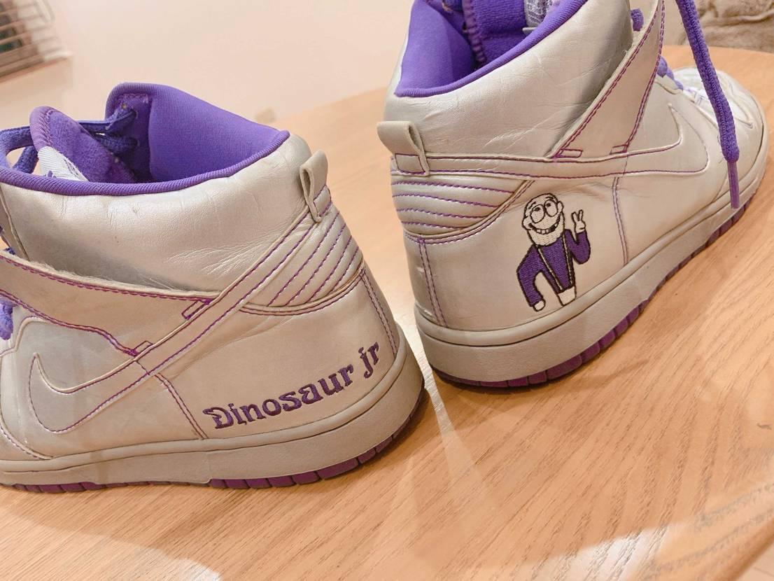 このお正月なんダディが前から欲しかったダイナソージュニア靴をくれました! 一応
