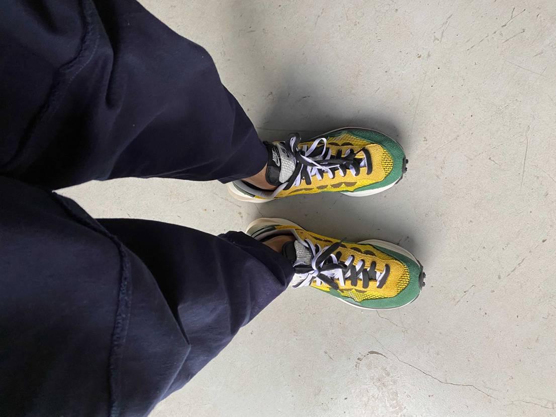 ついに先日初のプレ値で購入しました sacaiは2足目なのですがなんとなく靴の