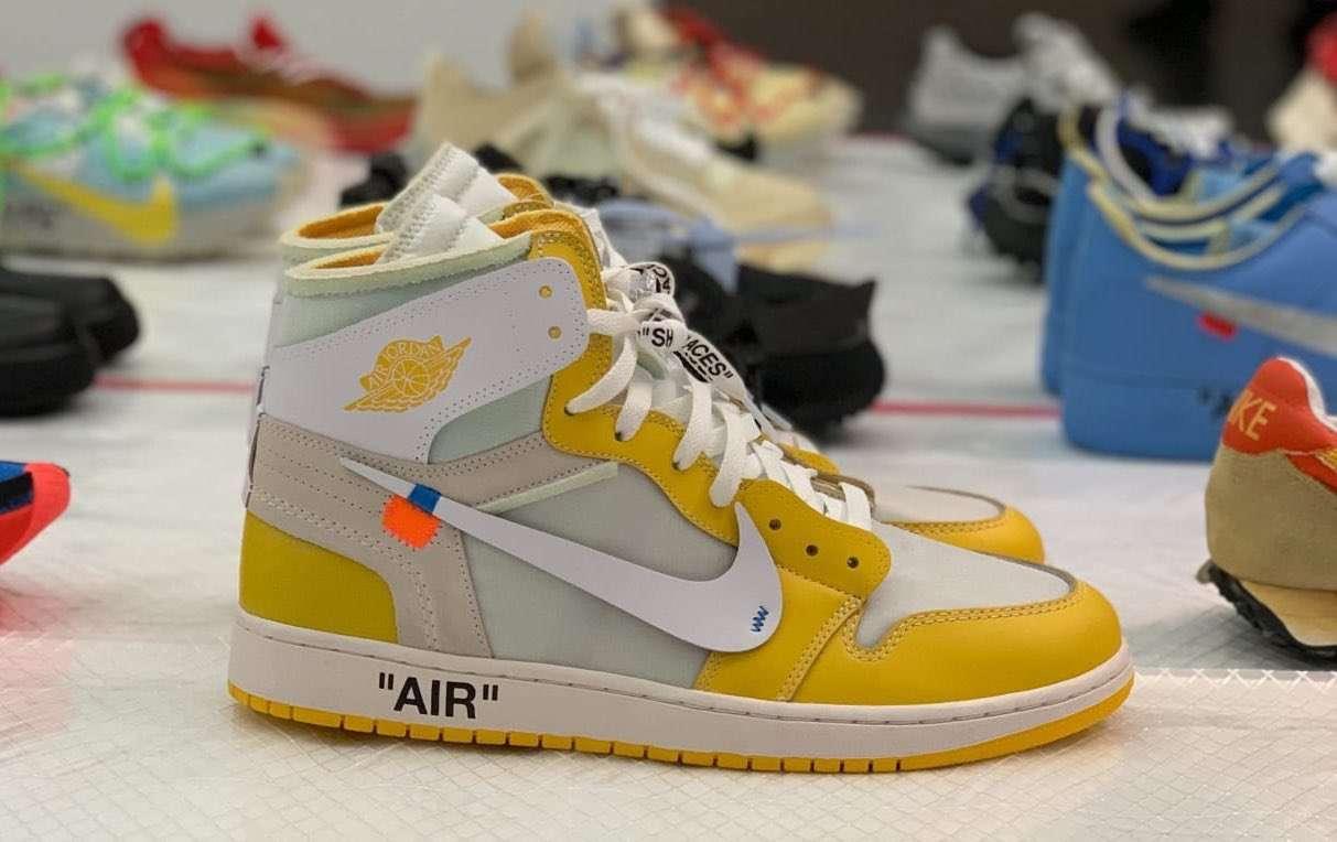 ・Off-White Air Jordan 1 Canary Yellow 20