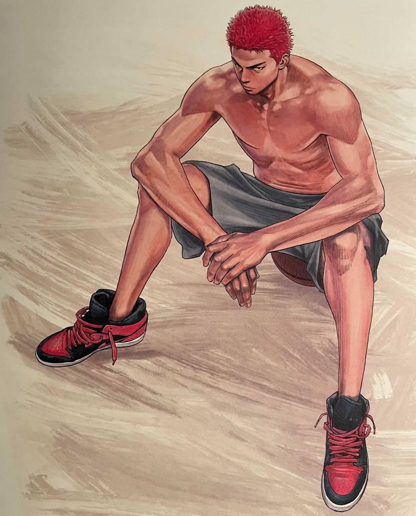 スラダンイラスト集2で桜木が履いてるやつですね! リメイクも良いけどそのままで