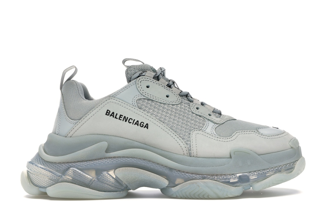 Balenciaga Triple S Clear Sole Grey