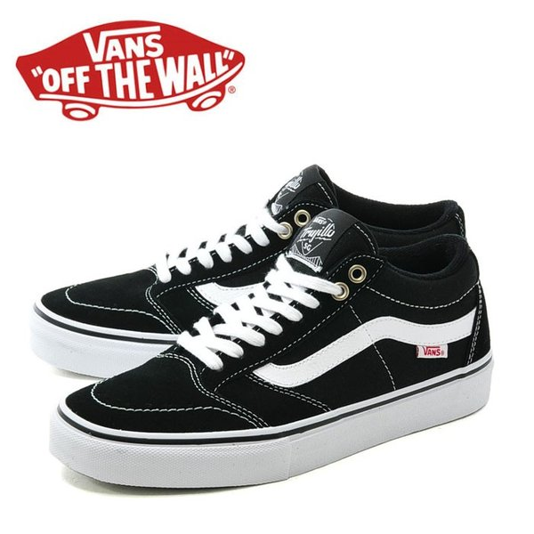 VANS TNT SG BLACK/WHITE