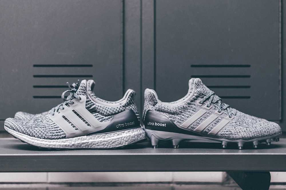 The adidas UltraBoost 3.0 'Silver Pack' and UltraBoost Cleat Will Debut During Super Bowl