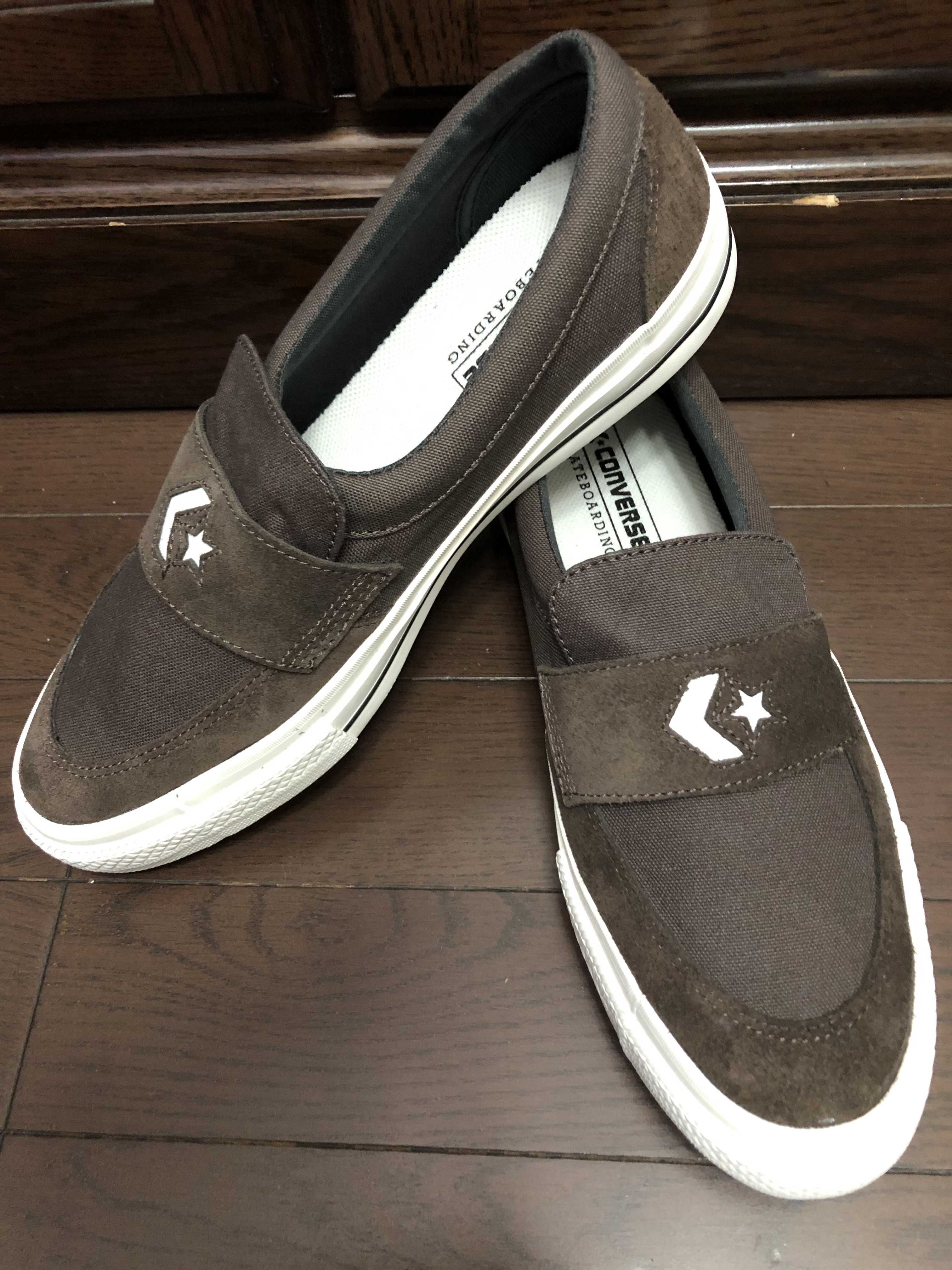 CONVERSE CS LOAFER SK ブラウン 20FW-S