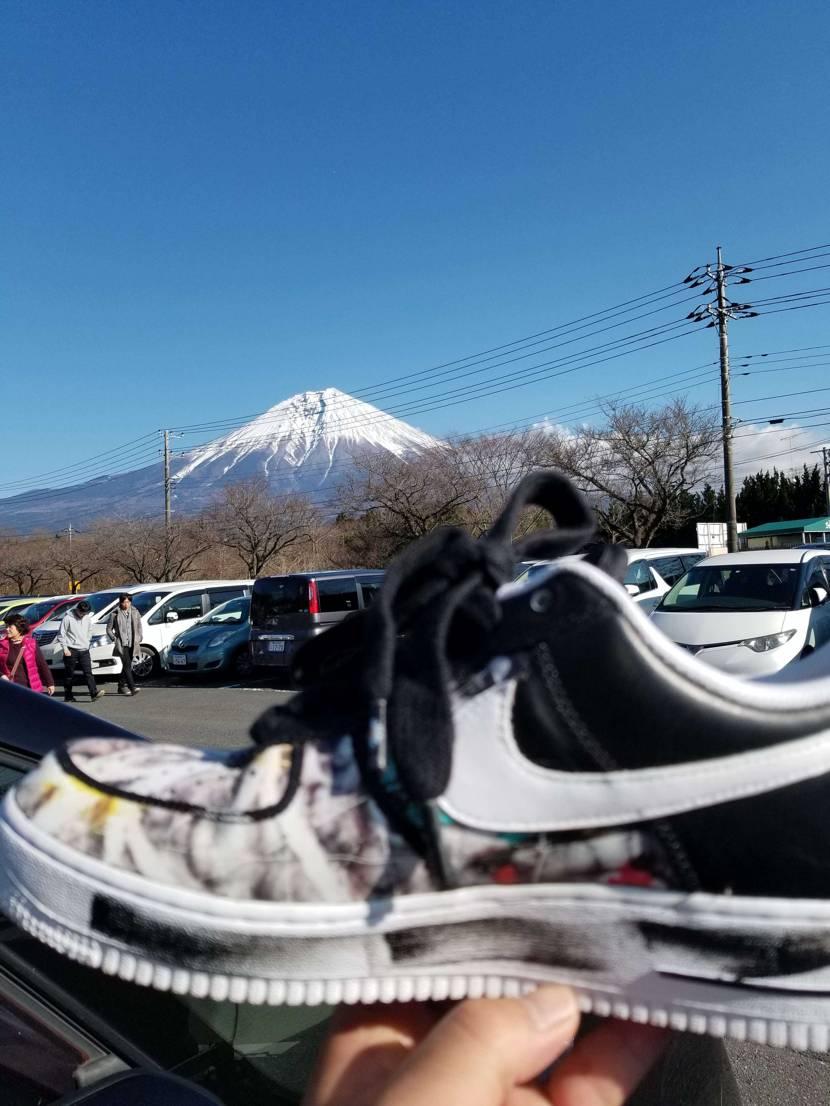 富士山とパラノイズ  #nike  #af1 #パラノイズ