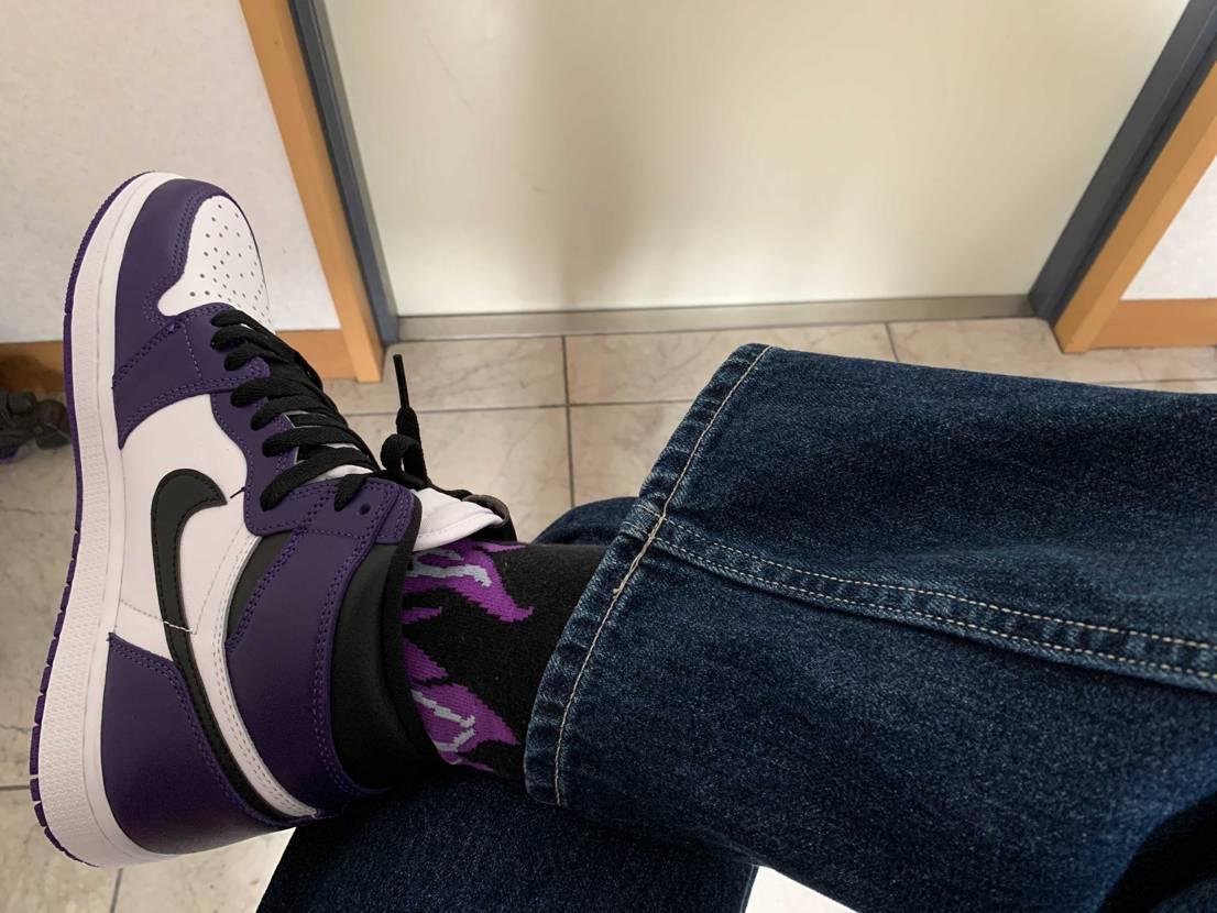 さらぴんのスニーカー履くのが1番興奮する マジでカッコイイ💕