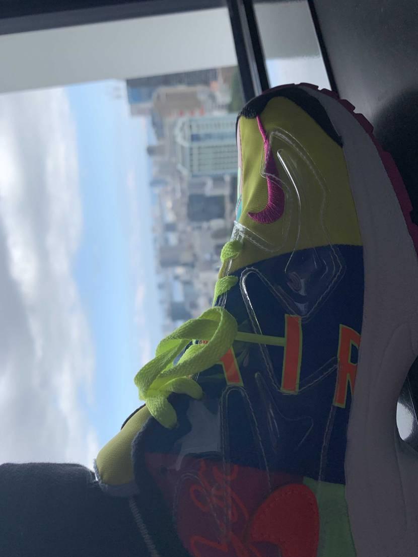 初投稿はNIKEAIR MAX 2 Light qs🤗 東京タワーにてパシャり