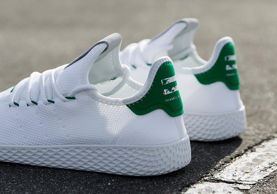 ファレル・ウィリアムス × アディダス オリジナルス テニス HU 全2色 2枚目
