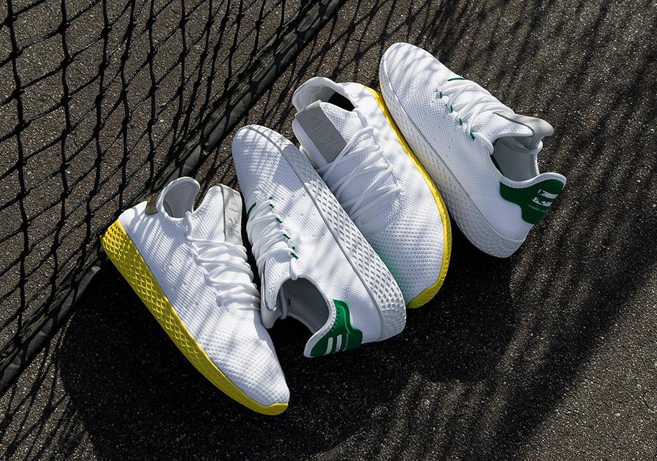 ファレル・ウィリアムス × アディダス オリジナルス テニス HU 全2色 6枚目