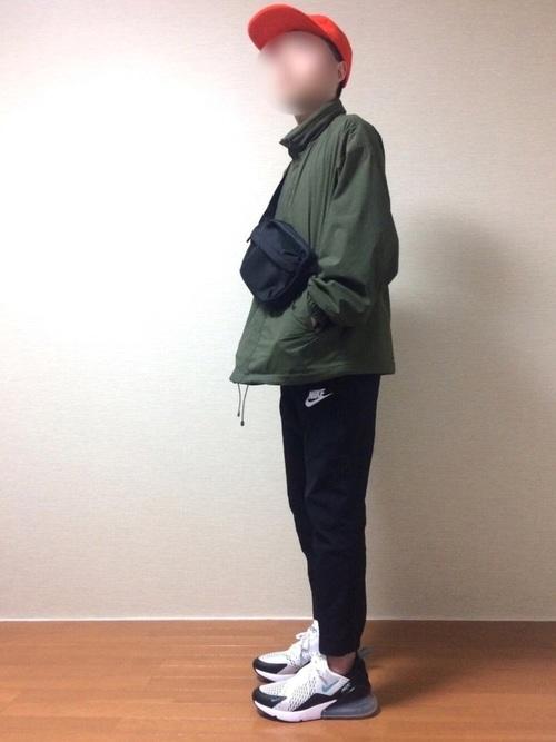エアマックス270(AIR MAX270)コーデ編