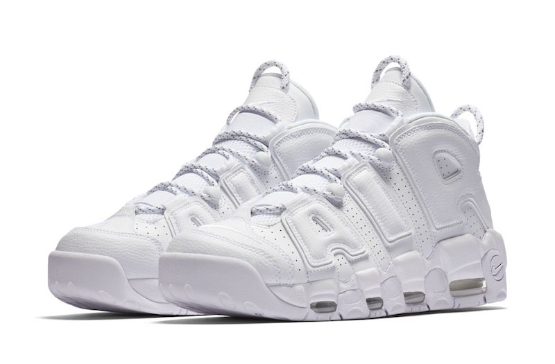 AIR MORE UPTEMPO WHITE/BLACK-VARSITY RED(エアモアアップテンポ トリプルホワイト)