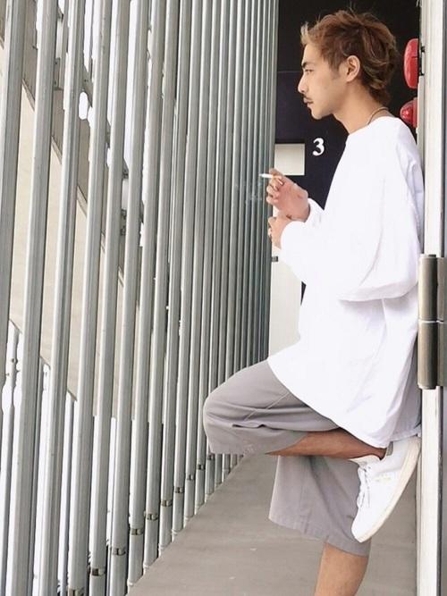 スタンスミス × ホワイトカラー