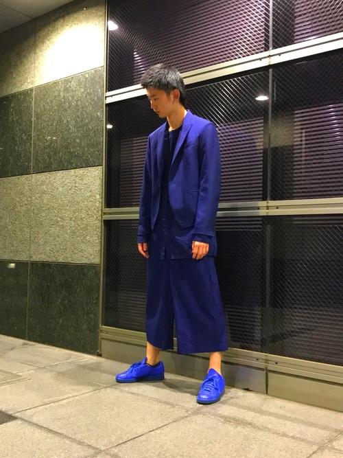 スタンスミス × ブルーカラー