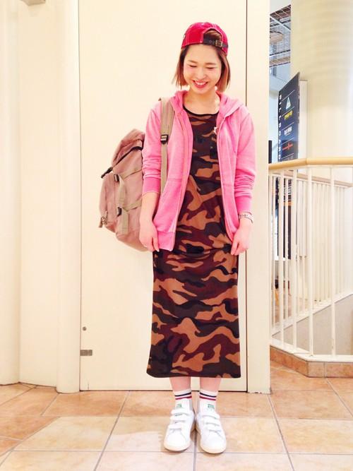 スタンスミス × ピンク