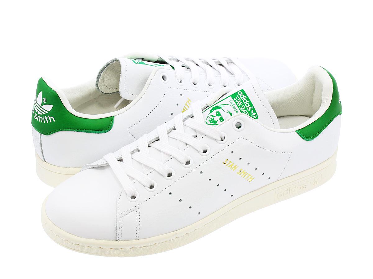 アディダス スタンスミス ホワイト/グリーン(ADIDAS STAN SMITH WHITE/GREEN)