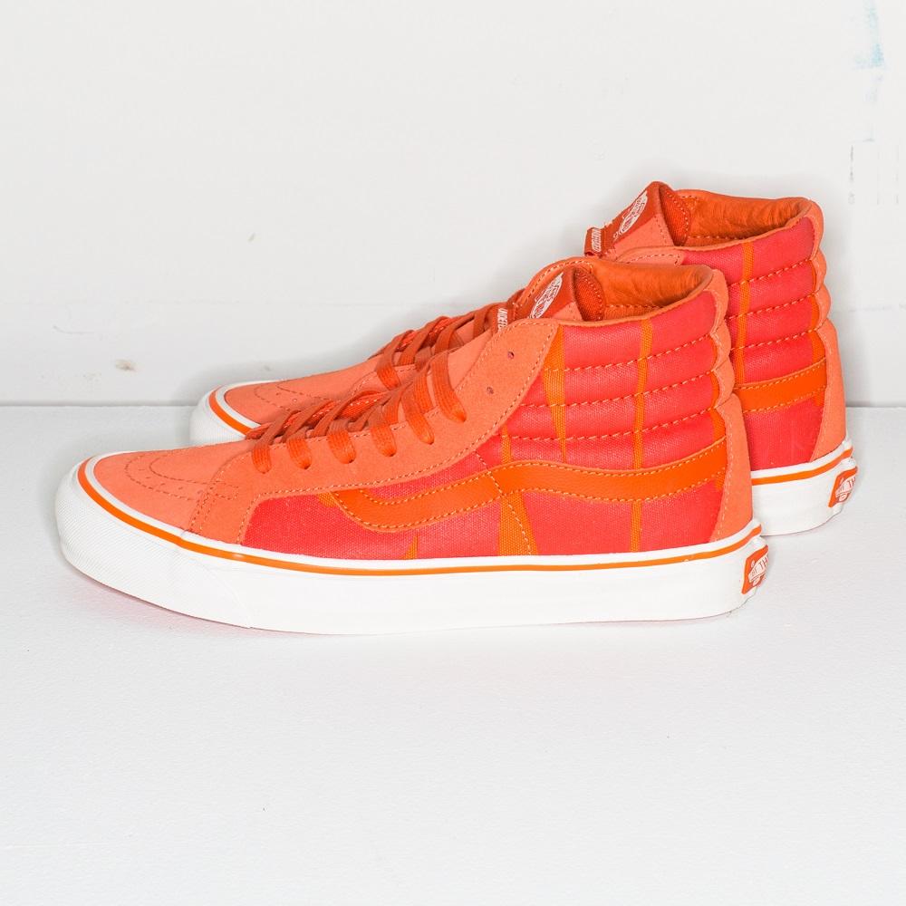 アンディーフィーテッド × バンズ スケートハイ オレンジ