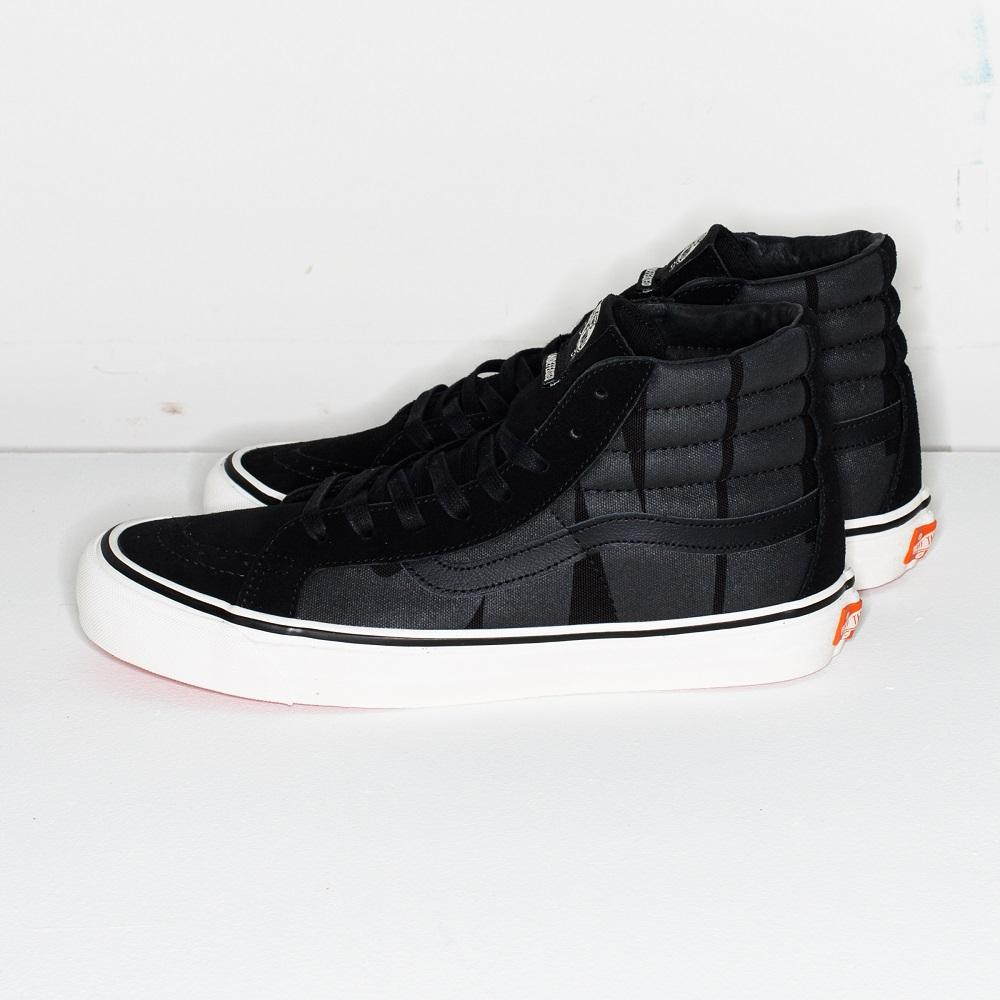 アンディーフィーテッド × バンズ スケートハイ ブラック