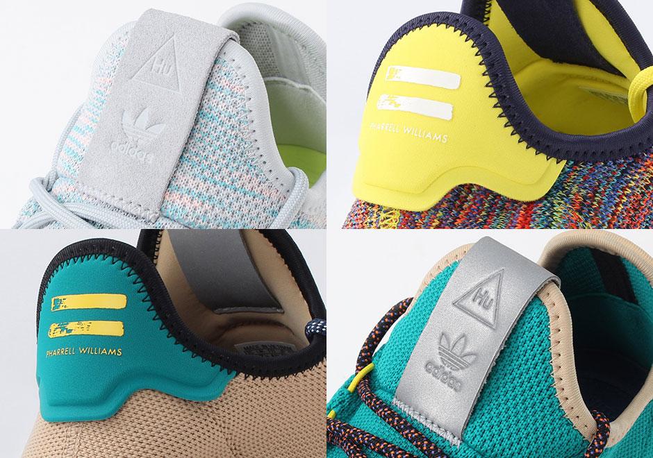 ファレル・ウィリアムス × アディダス オリジナルス テニス フー 4色展開 2枚目