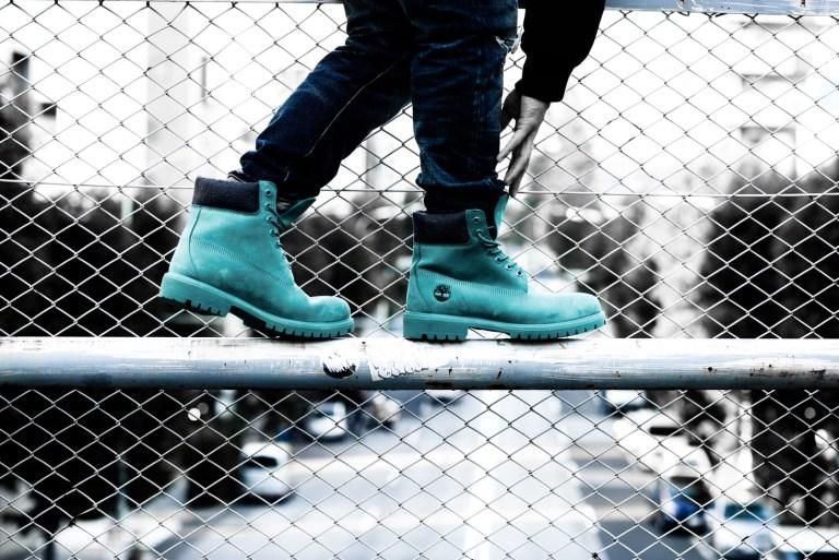 アトモス×ティンバーランド アトモス ティンバーランド 6インチ プレミアム ブーツ ティールブルー ウォーターバック【11/18発売】