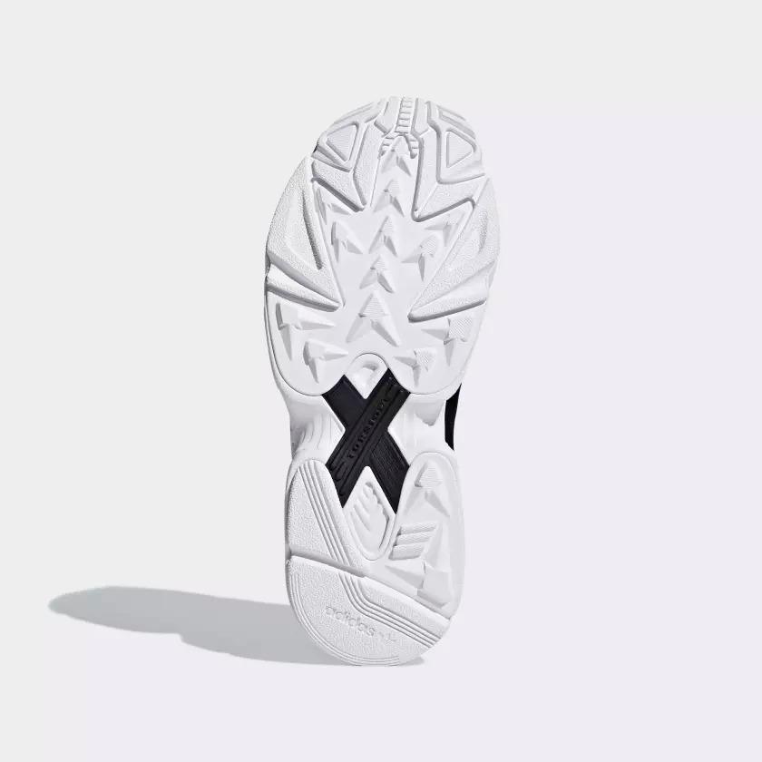 アディダス オリジナルス ウィメンズ ファルコン ブラック/ホワイト 9枚目