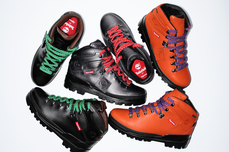 シュプリーム×ティンバーランド World Hiker Front Country Boot 全3色【11/24発売】