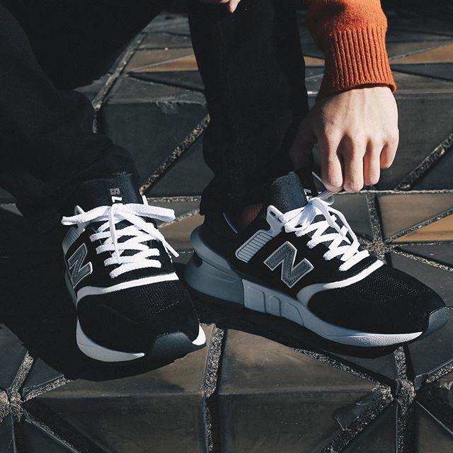 ニューバランス MS997 ホワイト/ブラック 6枚目