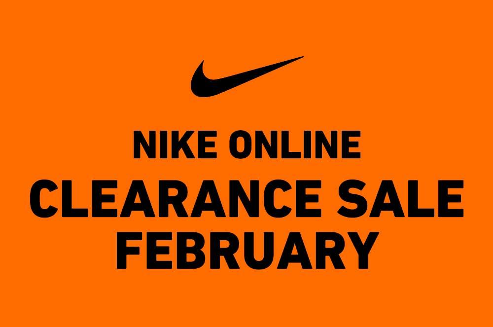 【2019年2月】ナイキオンラインにて2月のクリアランスセール商品がラインナップ!