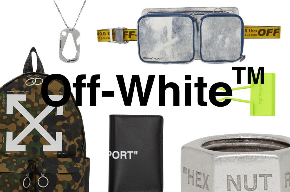 【SSENSE】OFF-WHITEの新アイテムを大量入荷!