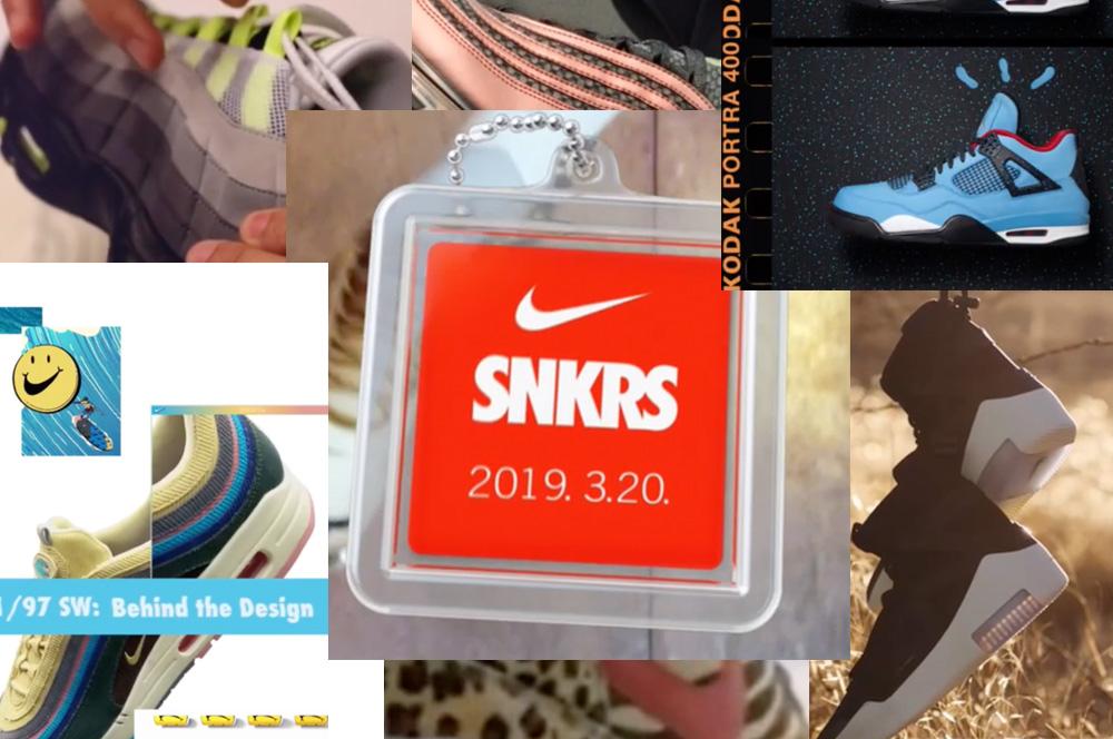 NIKE SNKRSアプリ生誕1周年 リストック週間【3/20〜】