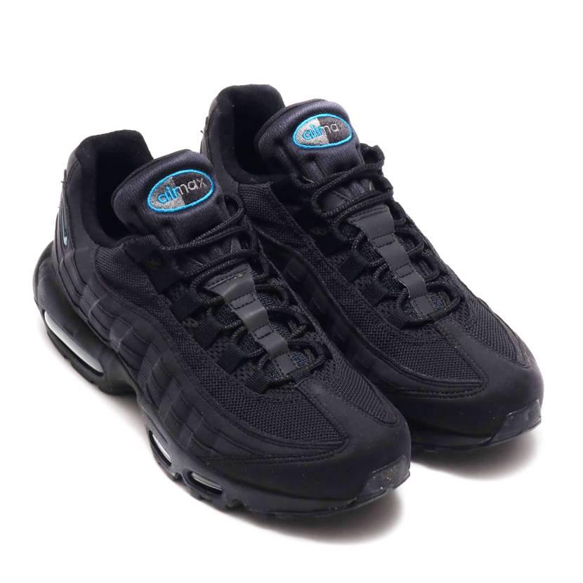 ナイキ エアマックス95 ブラック/インペリアル ブルー