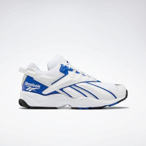 リーボック インターバル96 ホワイト/ブルー