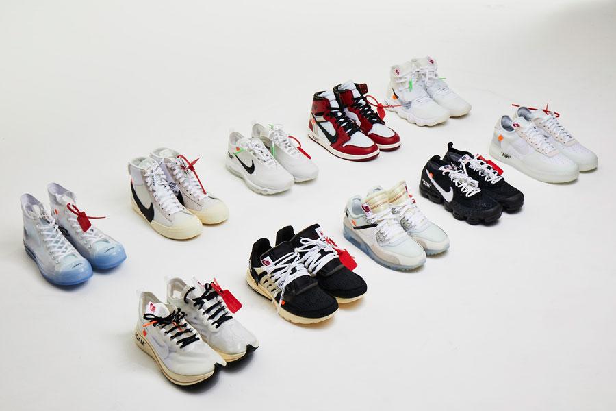 オフホワイト×ナイキ THE TEN コレクション【2017年11月発売】