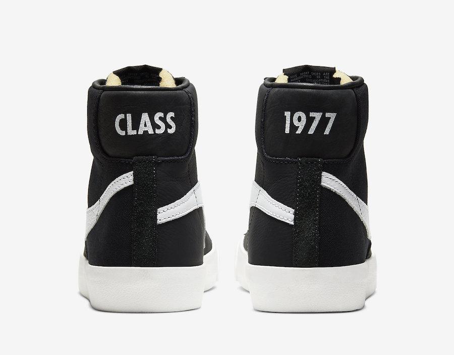 スラムジャム×ナイキ ブレーザー ミッド クラス 1977 ブラック/ホワイト 8枚目