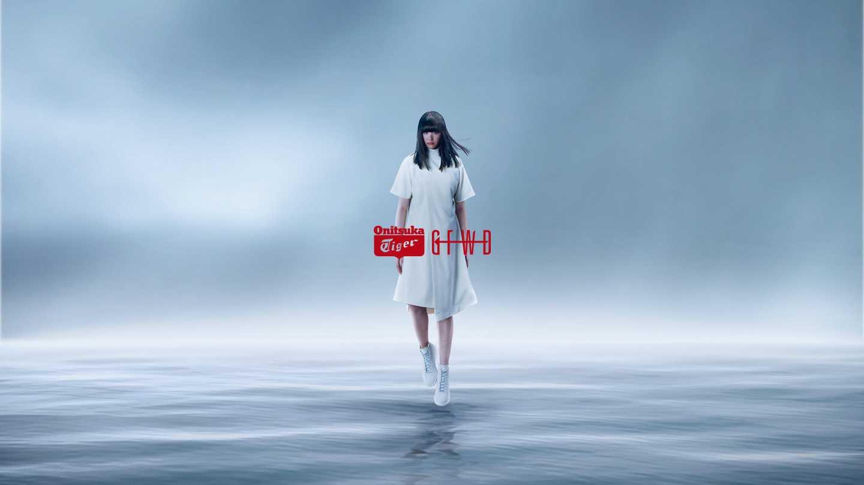 山下智久×アシックス オニツカタイガー リンカンブーツ ホワイト 2枚目