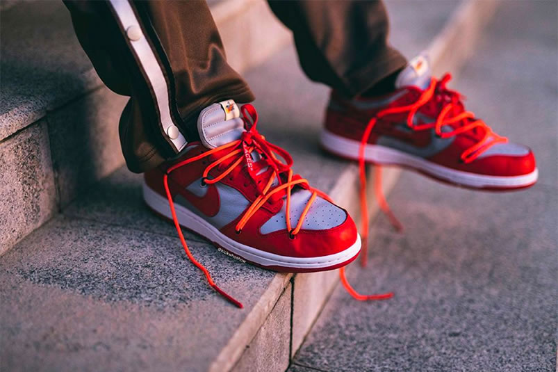 OFF-WHITE × NIKE DUNK LOW RED (オフホワイト×ナイキ ダンク ロー レッド)