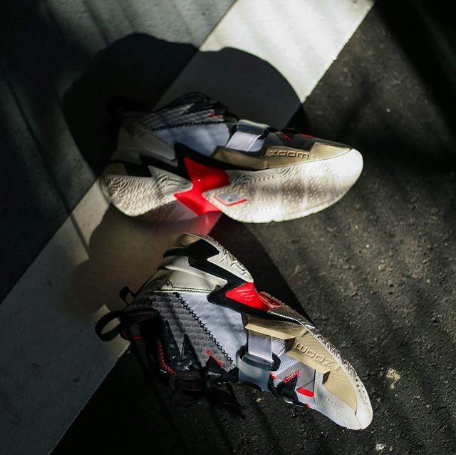 """ナイキ ジョーダン ワイノット ゼロ.3 PF """"ホワイト/ブライトクリムゾン""""【1/16発売】"""