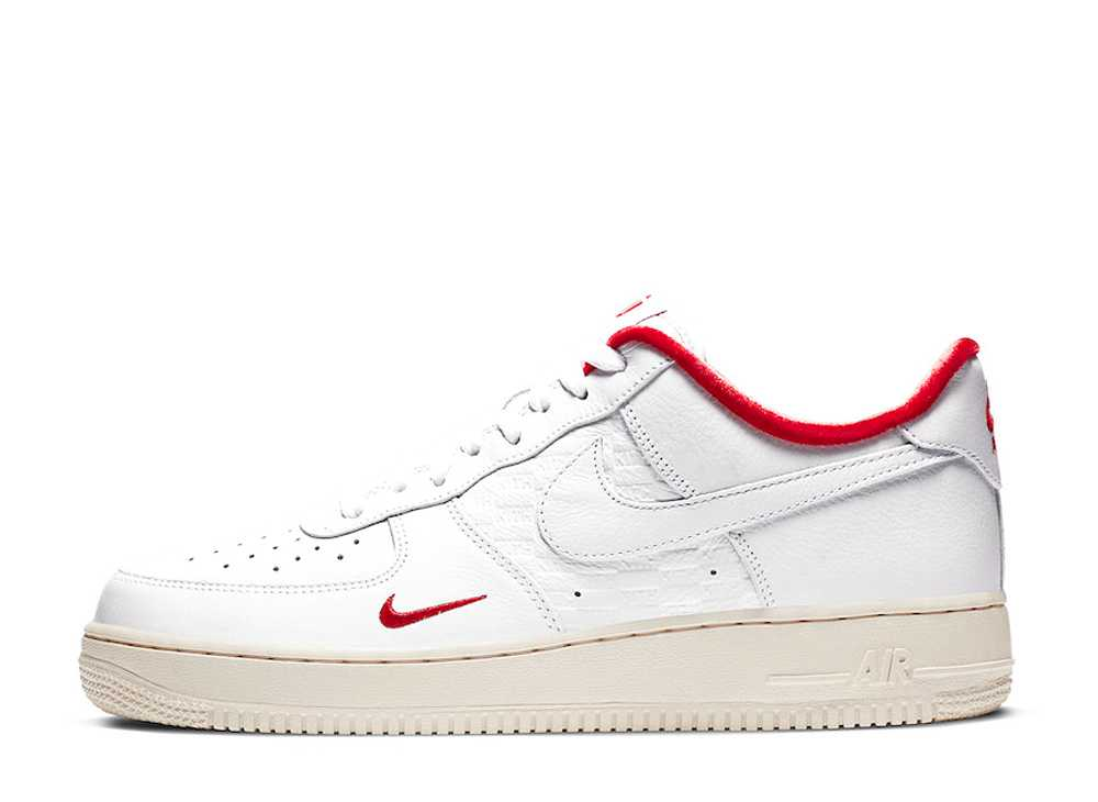 KITH × NIKR AIR FORCE 1 LOW WHITE/RED