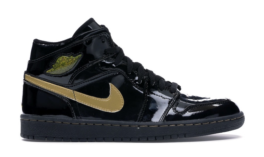 NIKE AIR JORDAN1 HIGH OG BLACK/BLACK-METALLIC-GOLD(2003)