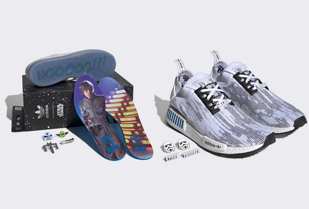 【販売リンクあり】7/23発売 STAR WARS × adidas NMD_R1 & STAN SMITH 抽選/定価/販売店舗まとめ