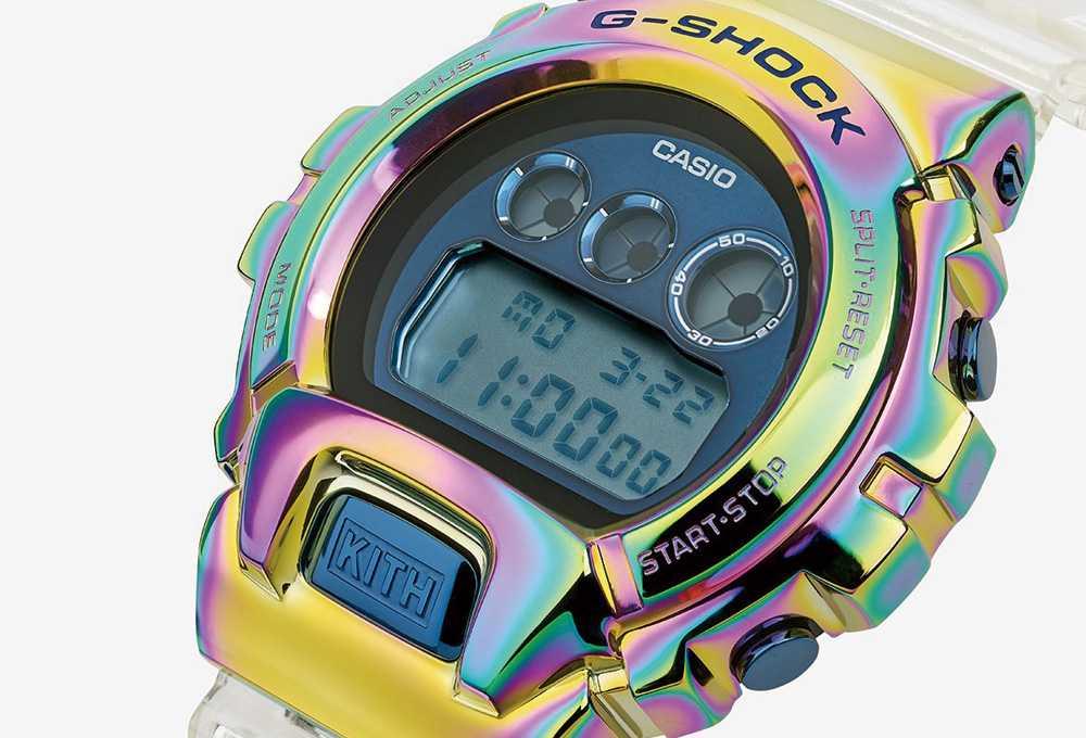 【スニダンで購入可】KITH × G-SHOCK GM6900 10th ANNIVERSARY WATCH 抽選/定価/販売店舗まとめ