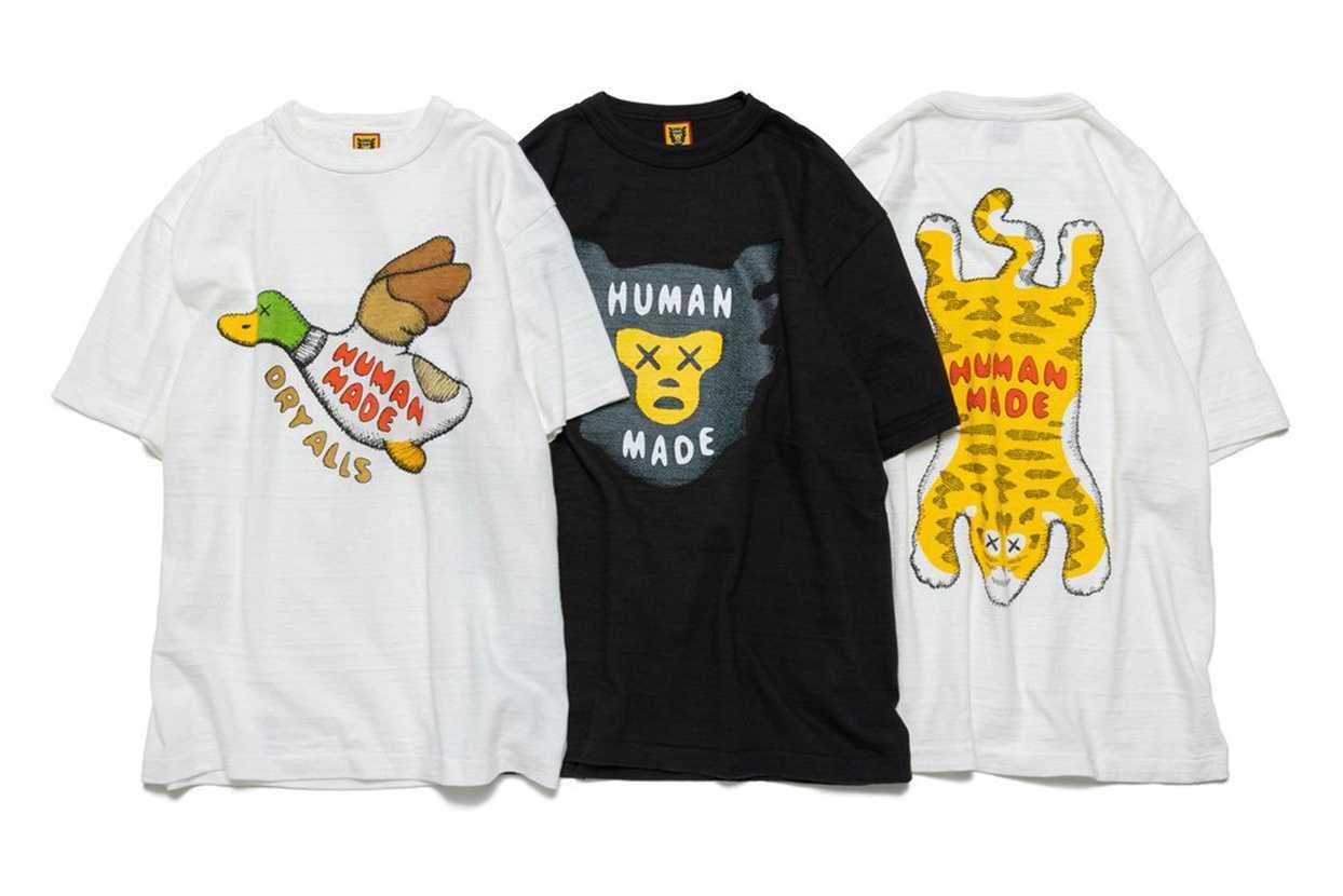 【スニダンで購入可】7/23発売 KAWS × HUMAN MADE TEE COLLECTION 抽選/定価/販売店舗まとめ