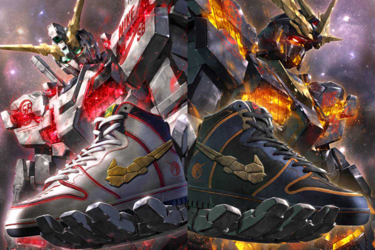 【スニダンで購入可】9/24・9/27発売 Gundam Unicorn × Nike SB Dunk High PRO QS 2Colors 抽選/定価/販売店舗まとめ