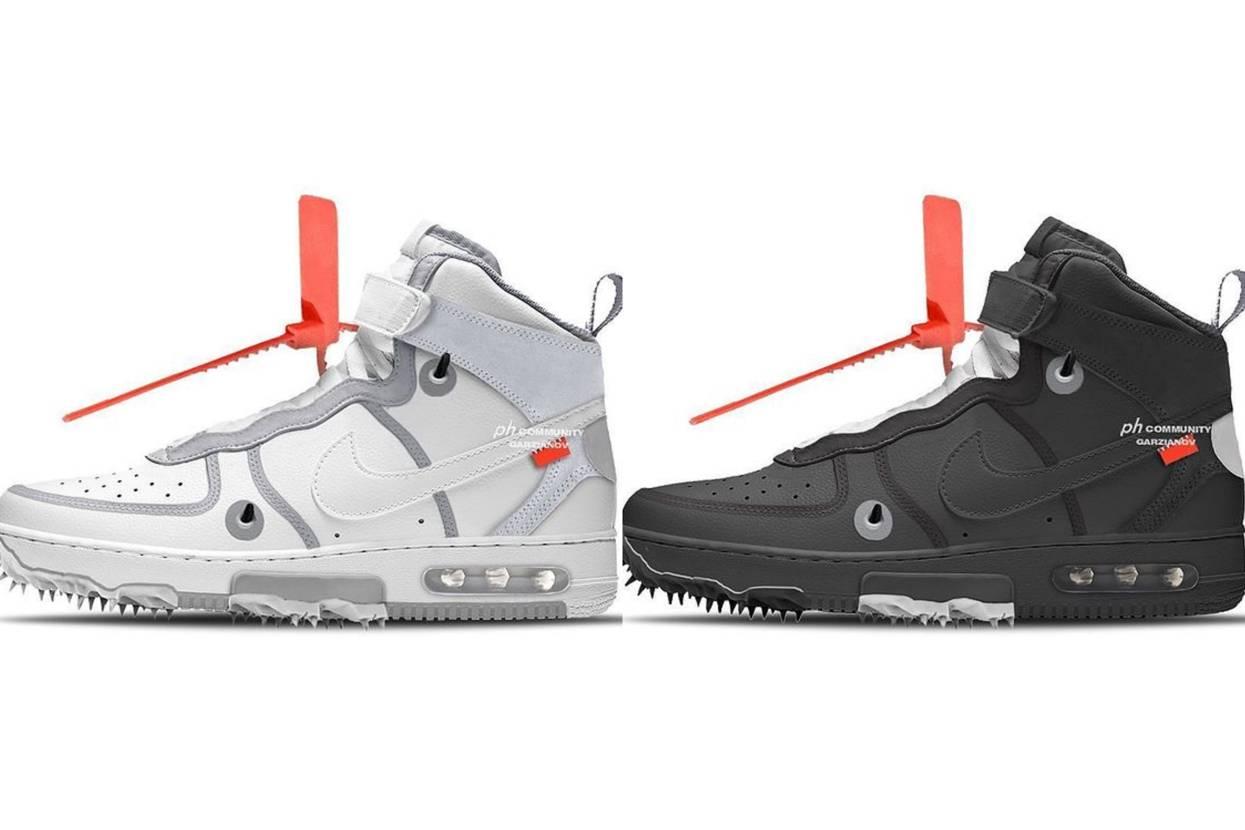 【リーク】2022年5月発売 Off-White × Nike Air Force 1 Mid 2Colors 抽選/定価/販売店舗まとめ