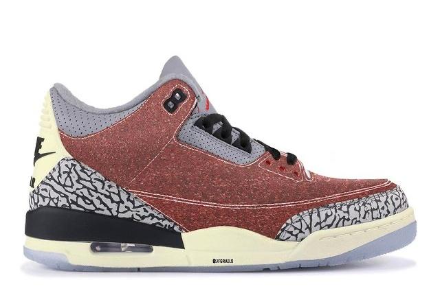 """【リーク】海外2021年発売 Nike Air Jordan 3 """"Trophy  Room 2021"""" 抽選/定価/販売店舗まとめ"""